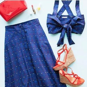 H&M set ( top & midi skirt )